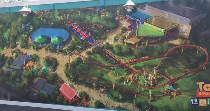 New Toy Story Land Concept Art at Disney's Hollywood Studios