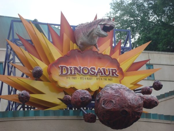 Dinosaur at Disney's Animal Kingdom