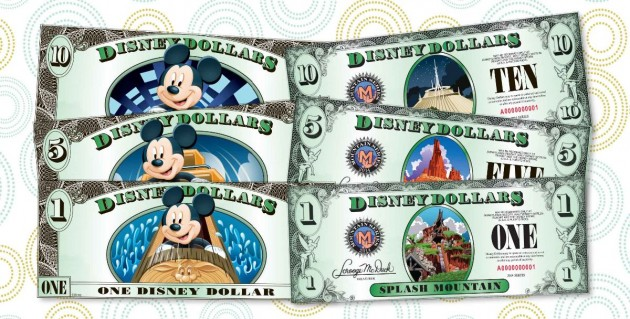 Disney Dollars to be Discontinued at Disneyland and Walt Disney World