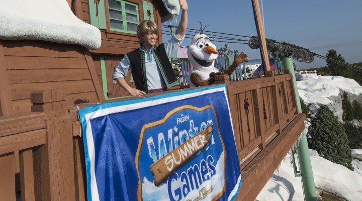 Frozen Games Coming to Disney's Blizzard Beach