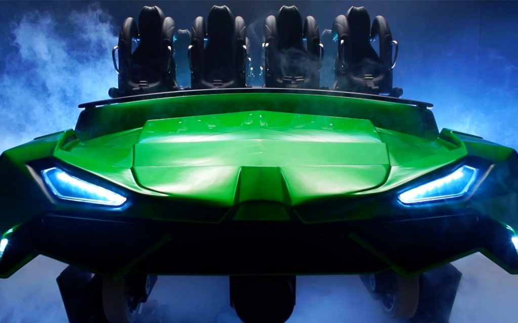 Incredible Hulk Coaster 2017 Ride Car Redesign