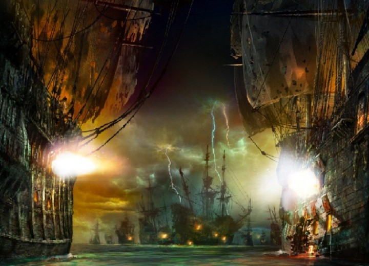 Watch This Incredible Video of Pirates of the Caribbean in Shanghai