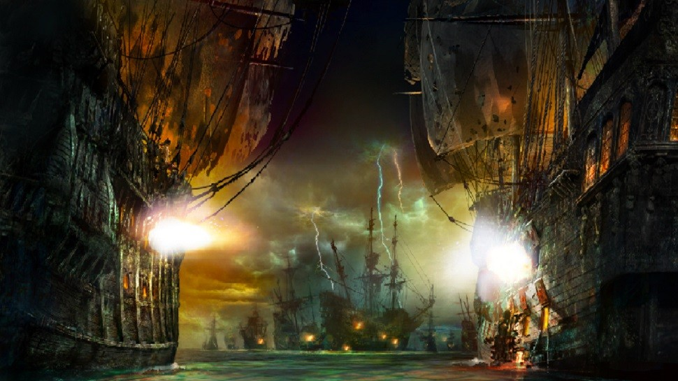 Pirates of the Caribbean Shanghai Disneyland concept art