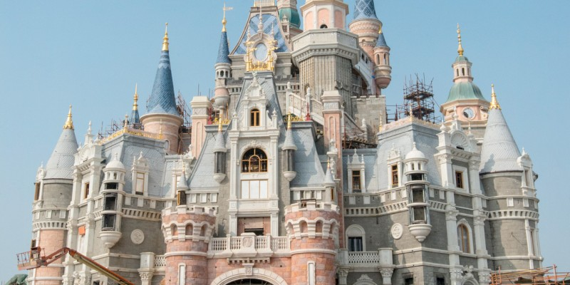 Storybook Castle at Shanghai Disneyland
