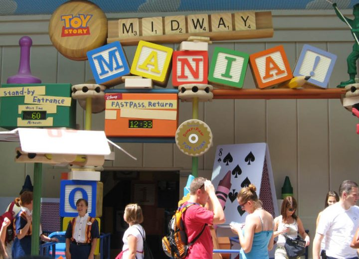 Third Track Open at Toy Story Midway Mania