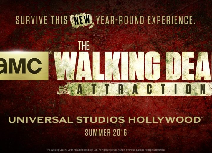 Walking Dead Attraction Walkthrough at Universal Studios Hollywood!