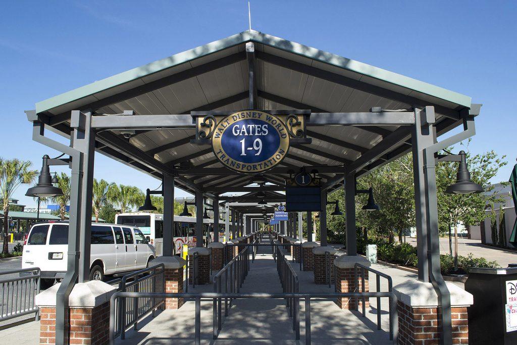 Disney Springs Gateway Bus stops