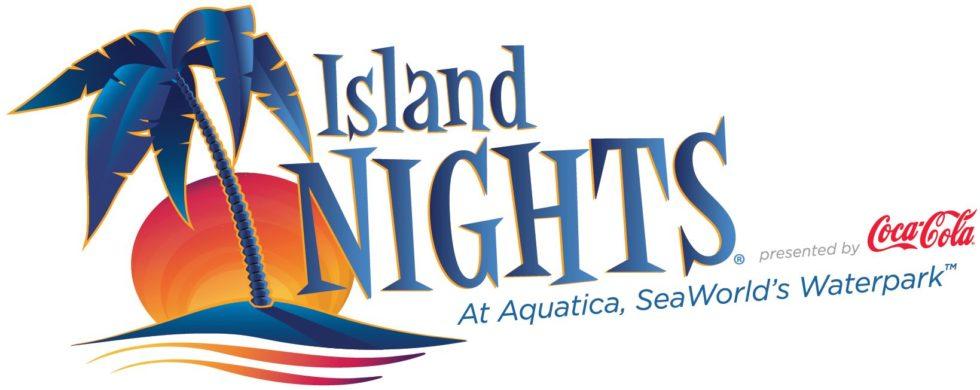 Island Nights logo at Aquatica