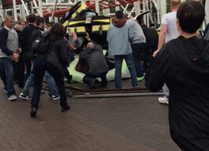 At Least 10 Injured in Rollercoaster Crash in Scotland