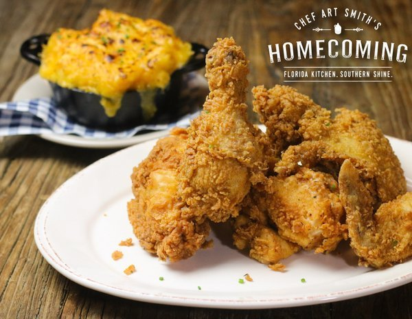 Chef Art Smith's Homecoming Restaurant at Disney Springs fried chicken
