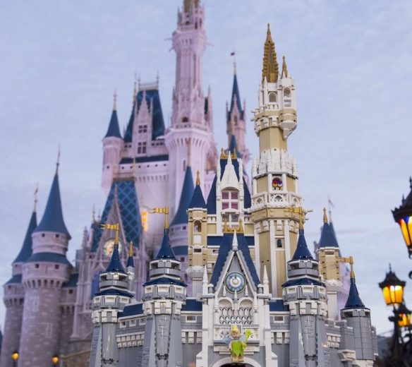 Cinderella Castle To Be Released In Lego Later This Year