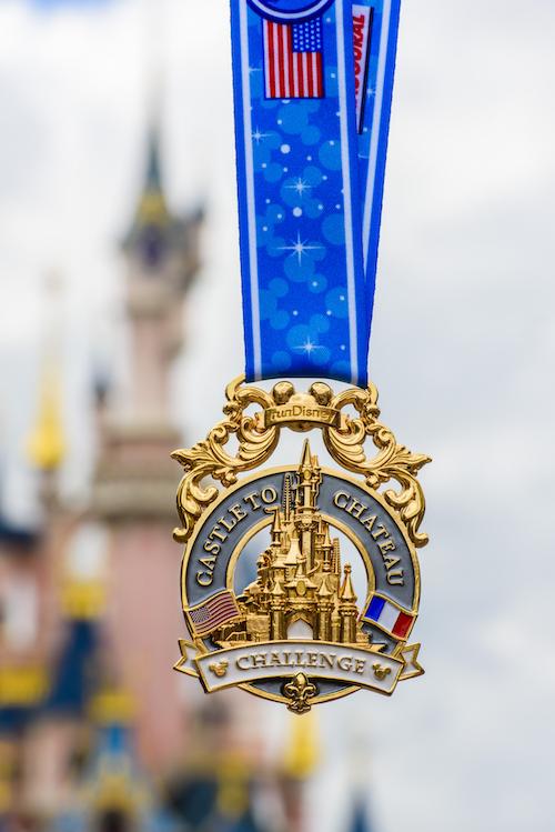 Disneyland Paris Castle top Chateau medal 2016