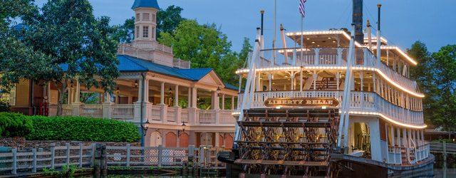 Liberty Square Riverboat Refurbishment Update