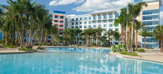 Video Walkthrough of Universal Orlando's Loews Sapphire Falls Resort