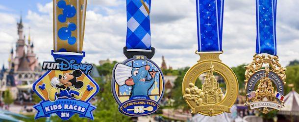 Disneyland Paris Reveals Inaugural Half Marathon Medals