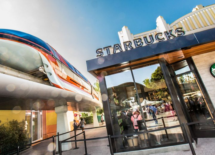 New Starbucks Location Open at Downtown Disney