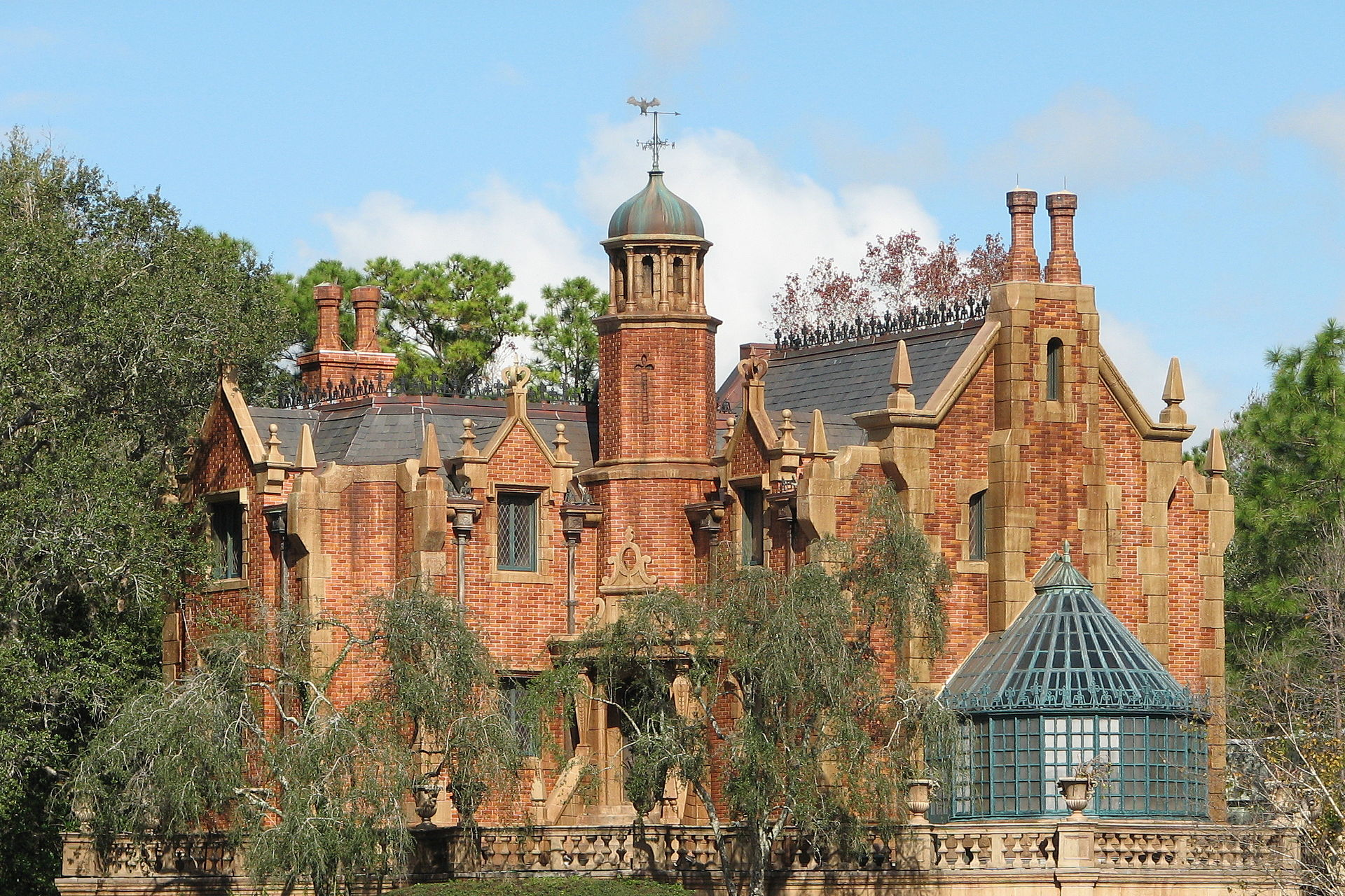 The Haunted Mansion exterior