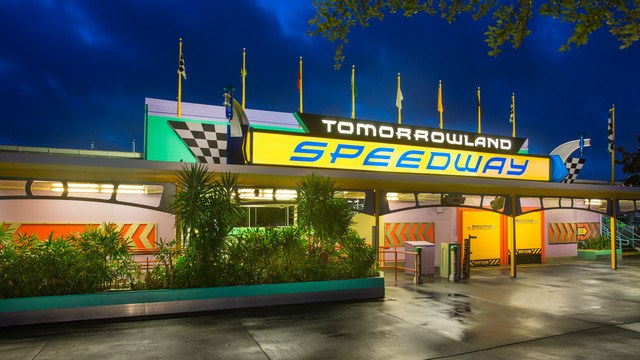 Could a Tron Coaster Actually Replace the Tomorrowland Speedway at Magic Kingdom