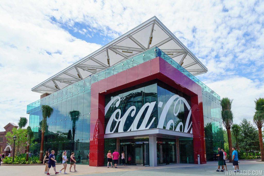 World of Coca-Cola exterior at Disney Springs in Orlando