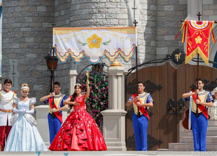 Princess Elena of Avalor Arrives at Magic Kingdom
