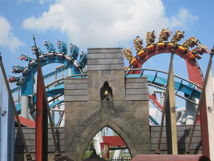 Dragon Challenge at Islands of Adventure