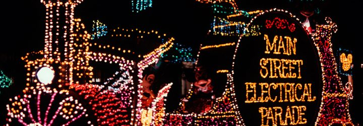 Behind the Scenes at the Main Street Electrical Parade in Disneyland!