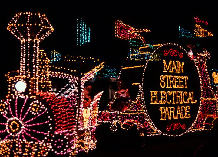 This Disneyland Ad for Returning Main Street Electrical Parade is Awesome