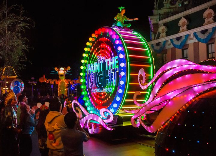 Disneyland to Close Paint The Night Parade in September