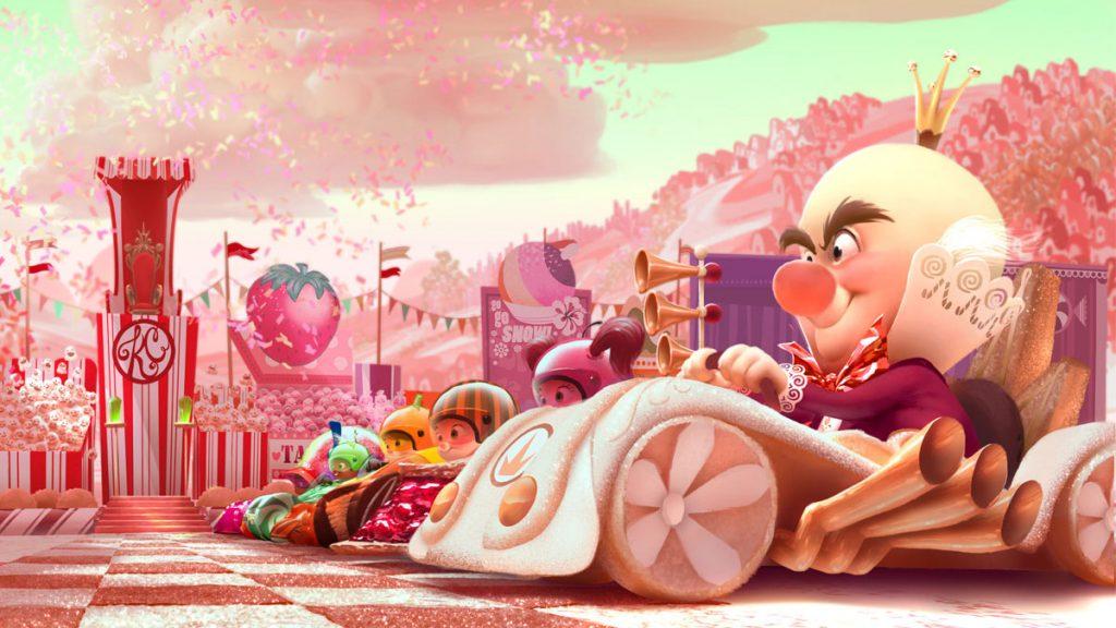Sugar Rush Speedway from Wreck-It Ralph