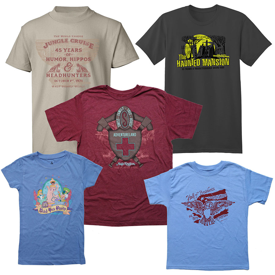 45th-magic-kingdom-anniversary-limited-edition-tshirts