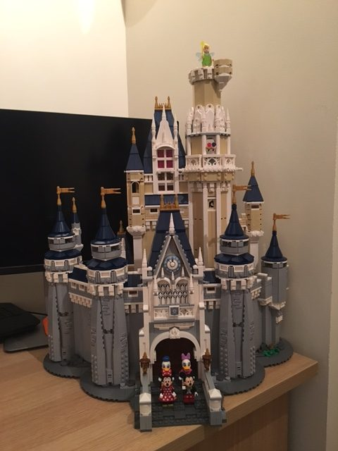 Take a look at the Completed LEGO Cinderella Castle!