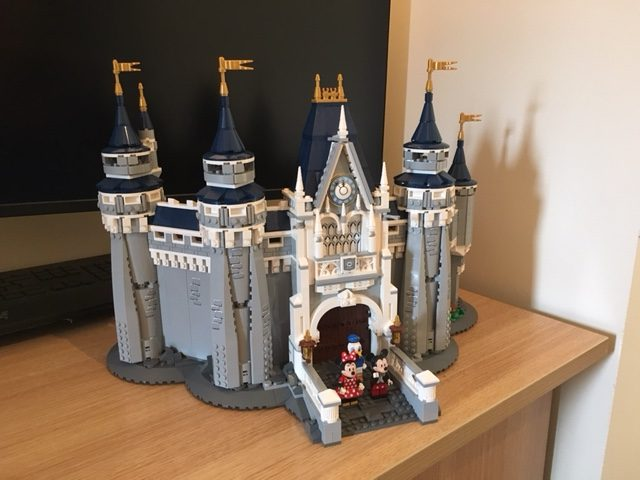 Take a look at the Theme Park Trader Completed LEGO Cinderella Castle!