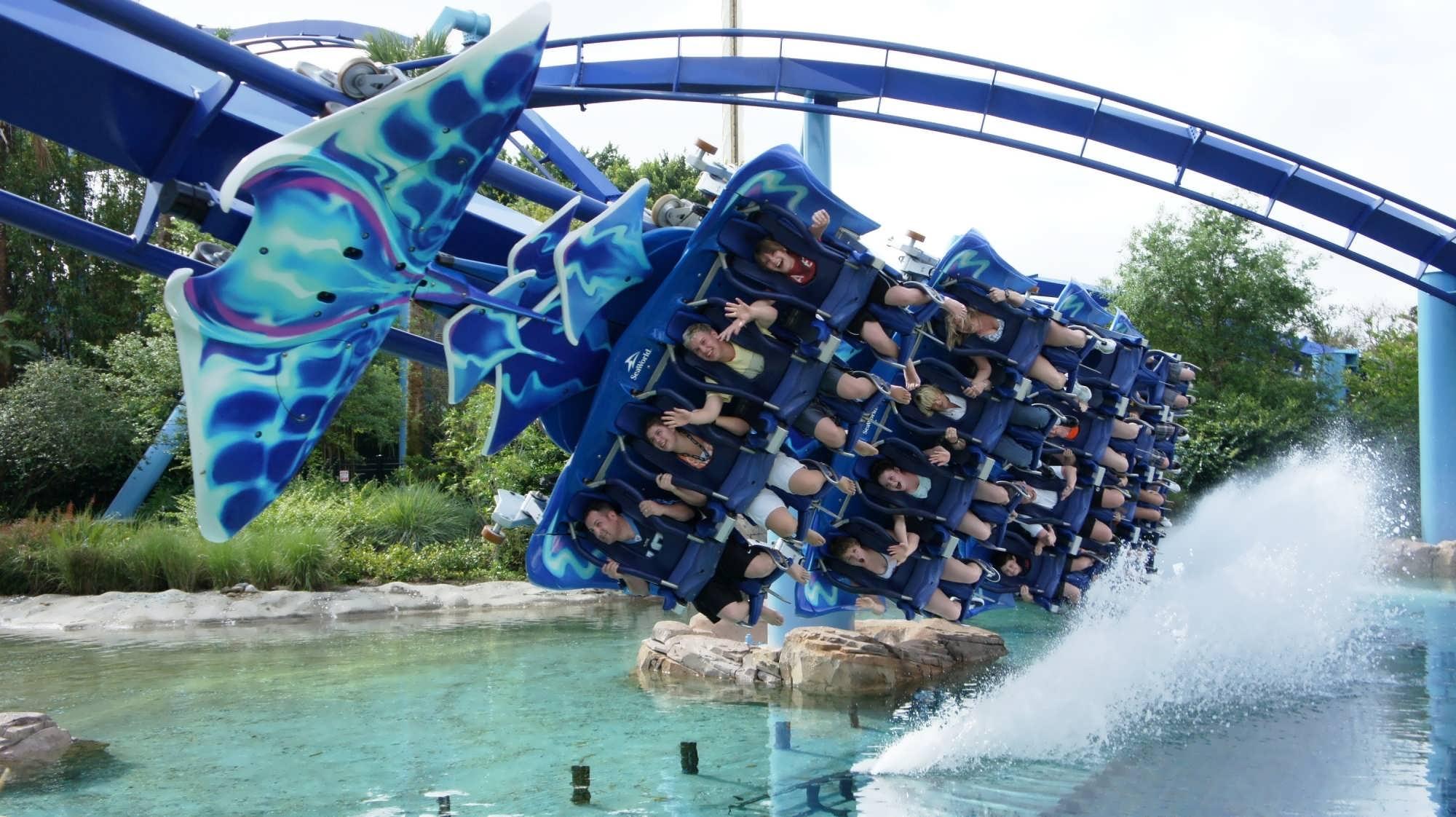 Kraken at SeaWorld Orlando