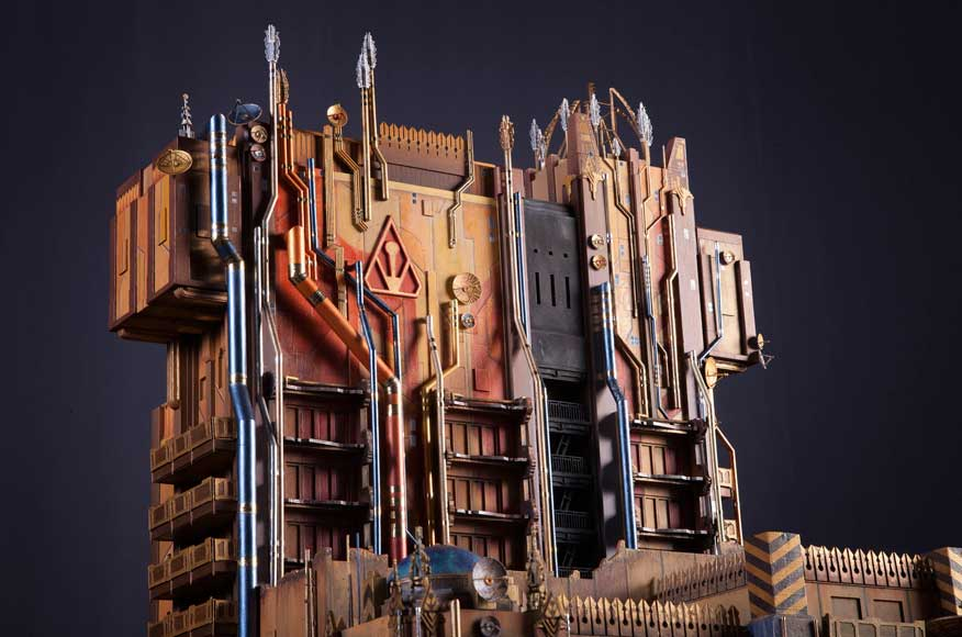 Guardians of the Galaxy Mission Breakout model