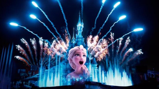 Disney Illuminations Disneyland Paris concept art