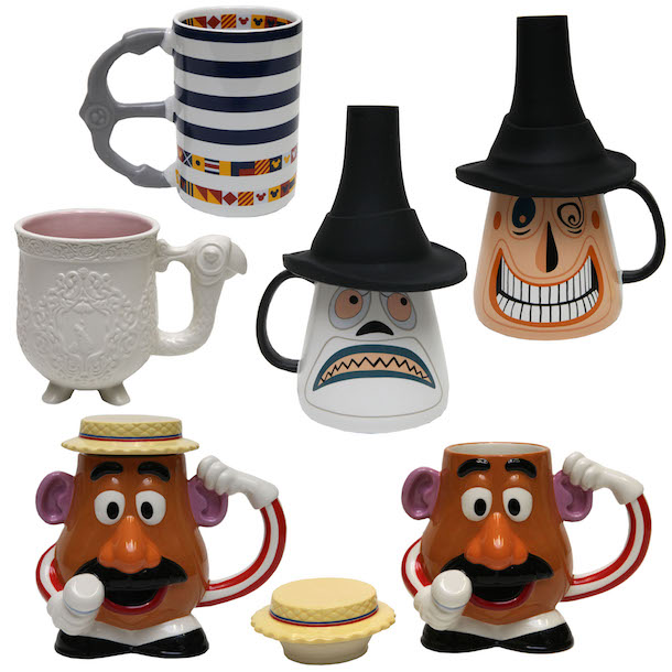 A New Selection of Mugs Coming to Disney Parks - Theme Park Trader