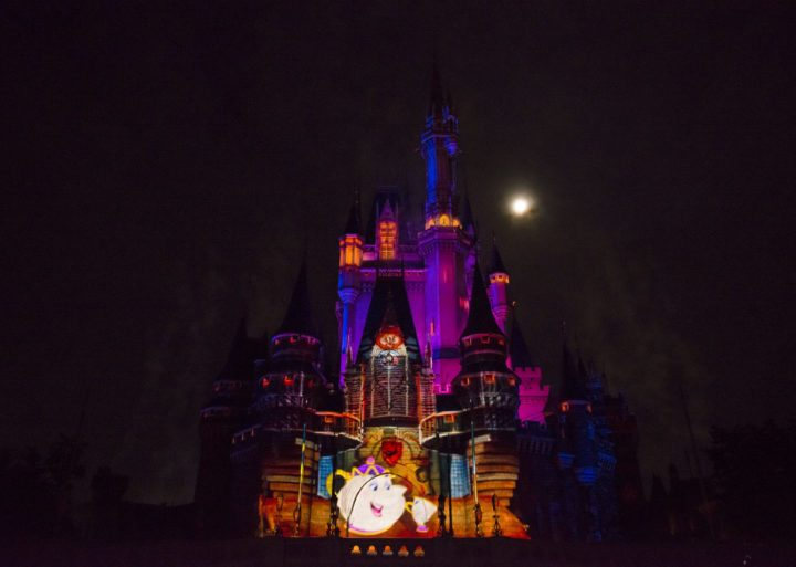 Watch the New Once Upon a Time Castle Show at the Magic Kingdom