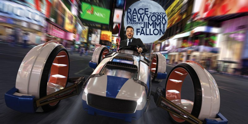 Race through New York with Jimmy Fallon promo image