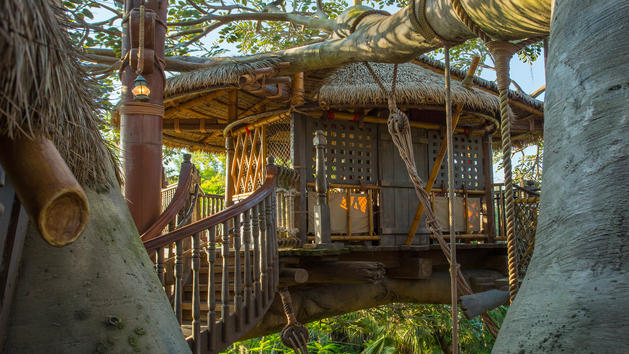 Swiss Family Robinson Treehouse Extends Refurbishment