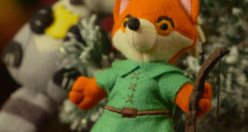 Robin Hood fabric ornament