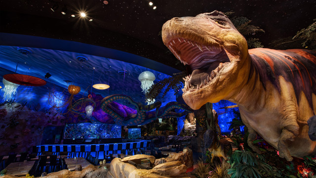 T-Rex Offering Breakfast with Santa and Early Shopping at Disney Springs