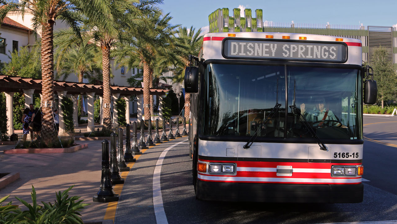 Bus Wait Times Now Available Via The My Disney Experience App