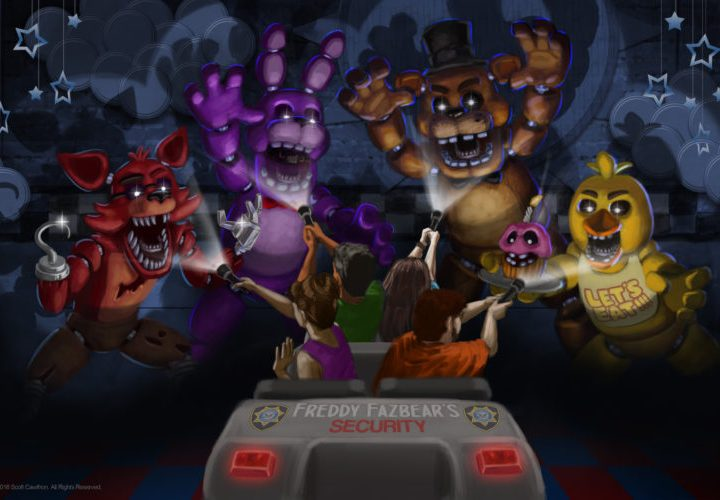 New Concept Art for Five Nights At Freddy's Attraction