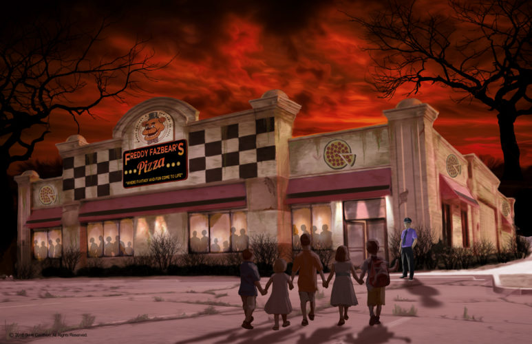 New Concept Art For Five Nights At Freddy S Attraction