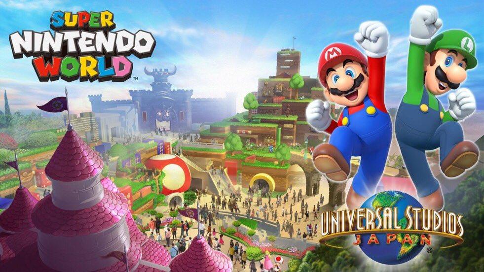 Super Nintendo World Japan concept art