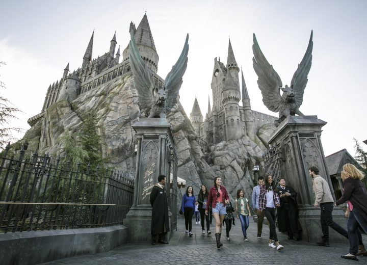 Universal Studios Hollywood Developing Nighttime Potter Show