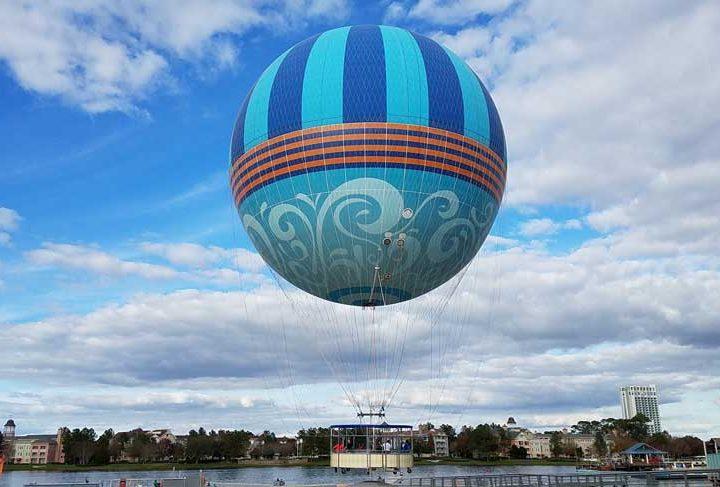 New Balloon Soars Into Disney Springs