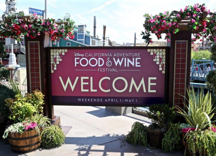 California Adventure Food & Wine Festival Returning to Disneyland in 2017!