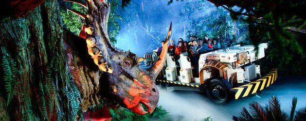 A Tour of Disney's Animal Kingdom Part 3 – Dinoland USA and Asia