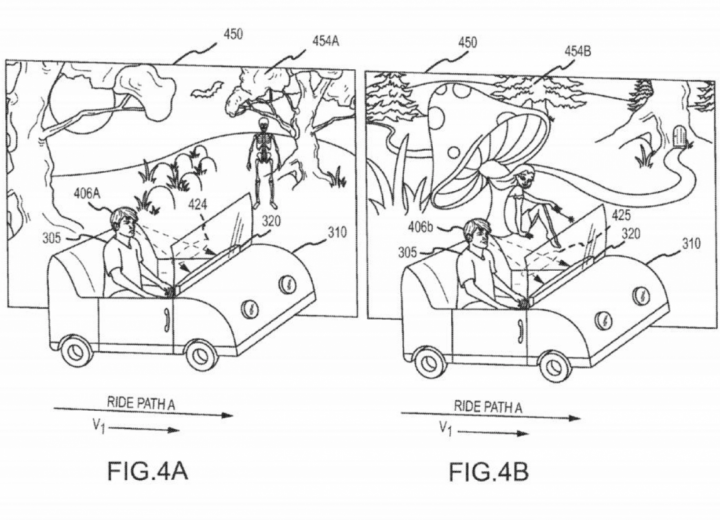 Disney Patent Reveals Theme Park Ride Controlled by Guest Emotion